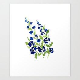 Wild Blue Yonder Art Print
