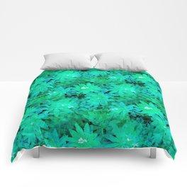 Woodruff in Blue & Green - IA Comforters