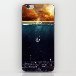 """Our Ends Are Beginnings"" - Limited Print iPhone Skin"