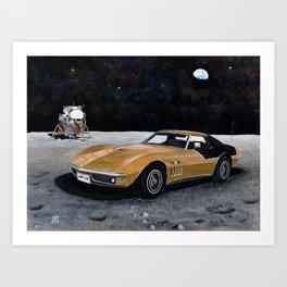AstroVette Art Print