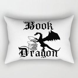 Book Dragon Rectangular Pillow