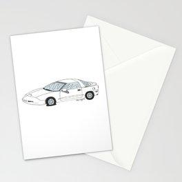 Flat Tire Firebird Stationery Cards