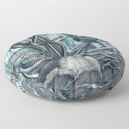 Sea Monster Floor Pillow