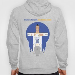 Cristiano Ronaldo Real Madrid Illustration Hoody