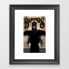 Baroness Poster Framed Art Print