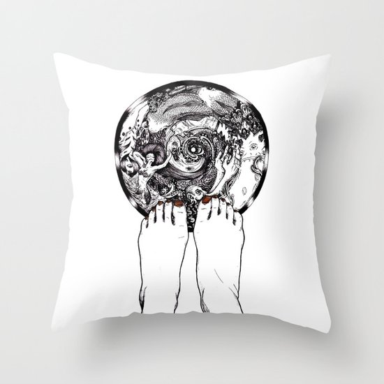 Another Dimension Throw Pillow