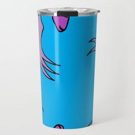 Before Time Began II (blue) Travel Mug