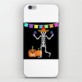 Mexican Skeleton iPhone Skin