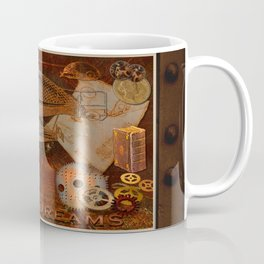 Steam Dreams - Steampunk Theme Coffee Mug