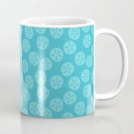 Aqua Sand Dollars Coffee Mug