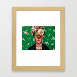 Frida Flow Framed Art Print