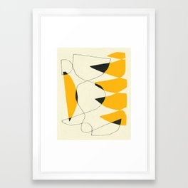FELL SWOOP Framed Art Print