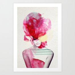 Bright Pink - Part 2 Art Print