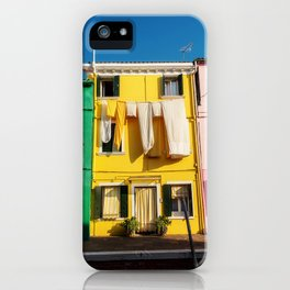 Beautiful Burano Italy iPhone Case
