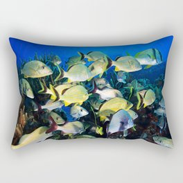 Underwater Photography by John Schwalbe Rectangular Pillow