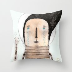 Letting go doesn't mean giving up... it means moving on.  Throw Pillow