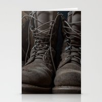 military Stationery Cards featuring Military Mark by Katelyn King