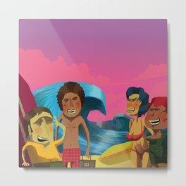 Brazillian Surf A-Go-Go Metal Print