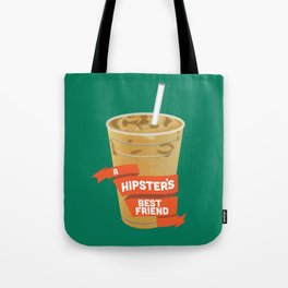 A Hipsters Best Friend Tote Bag