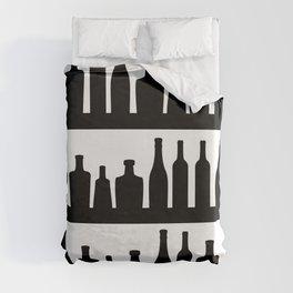 Classic Bottles Duvet Cover