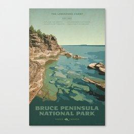 Bruce Peninsula National Park Canvas Print