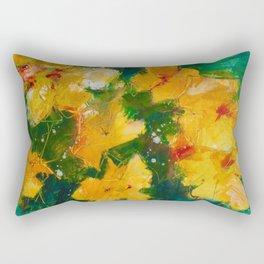 Party Pansies Rectangular Pillow