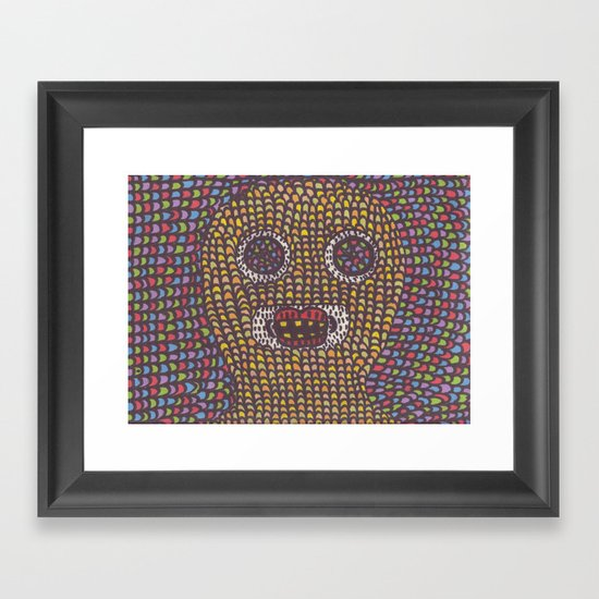 Acid. Framed Art Print
