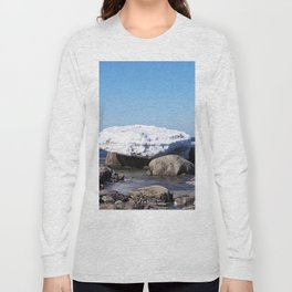 Perched on the Boulders Long Sleeve T-shirt