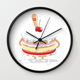 Come take a bite Wall Clock