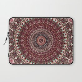Mediterranean Boho Kaleidoscope Laptop Sleeve