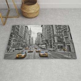 5th Avenue NYC Traffic Rug