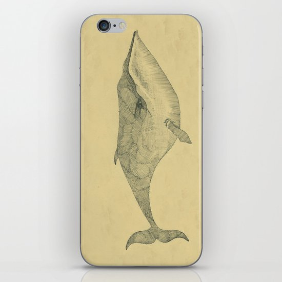 White Whale iPhone & iPod Skin