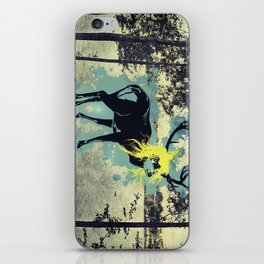 Just becuase I am blond doesn't mean I put out! iPhone Skin