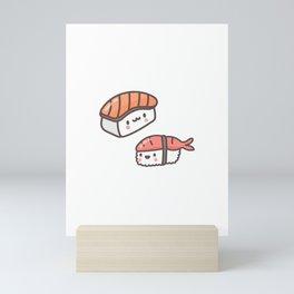 Sushi Bad Funny design for Japan fans Mini Art Print