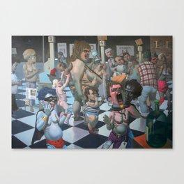 """Notrica 32st St Market"" Canvas Print"