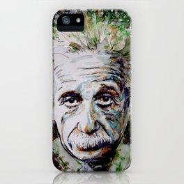 Albert Einstein - brainstorm iPhone Case