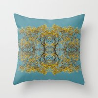 halo Throw Pillows featuring Halo by N A N A M I
