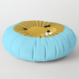Lion face cute decor for kids boys and girls nursery kids room Floor Pillow