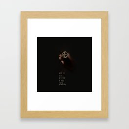 May the odds be ever in your favor Framed Art Print