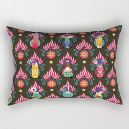 Tiki dinks Rectangular Pillow