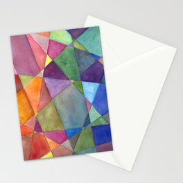 Warm and Cool Stationery Cards