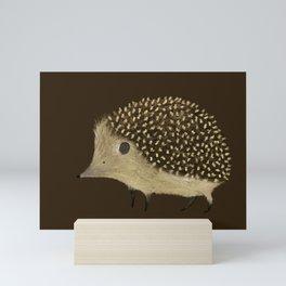 Betty The Hedgehog Mini Art Print