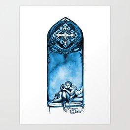 Romeo and Juliet - William Shakespeare Illustration Art Print