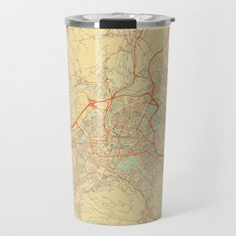 Bern Map Retro Travel Mug