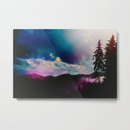 Kaleidoscope Wilderness Metal Print