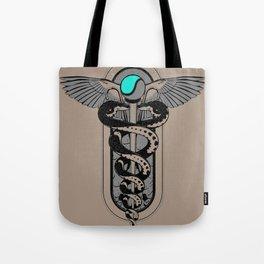 Snakes on a Cane Tote Bag