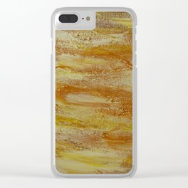 Embers Clear iPhone Case