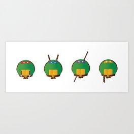 Ninja Turtles Art Print