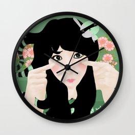 Kawaii tears Wall Clock
