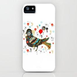 pretty lark iPhone Case